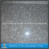 Pisadas de escalera de los pasos de progresión de la piedra del granito G664 y canalizaciones verticales naturales baratas
