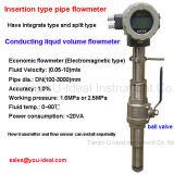 Medidor de fluxo eletromagnético / magnético para combustível, cimento, esgoto