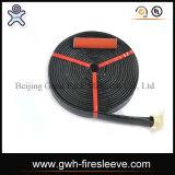 Tuyau en caoutchouc résistant de pétrole renforcé par acier de douille du feu