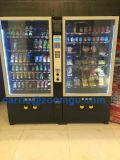 Grand casse-croûte et distributeur automatique de boissons avec l'accepteur de pièce de monnaie