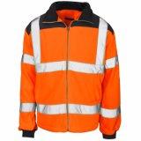 고품질 En20471 (C2491)를 가진 높은 시정 안전 양털 재킷