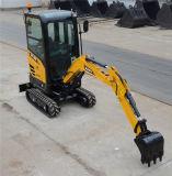Sany Sy16c землечерпалка Crawler отверстия засаживать вала 1.6 тонн Digger миниая