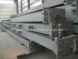 Vigas soldadas de H, columnas, vigas en la estructura de acero