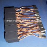 Щетка D374L углерода в форме графита самого лучшего цены Electro сделанная в Китае