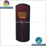 LCD de pantalla digital portátil detector del alcohol de la respiración / alcoholímetro probador del alcohol