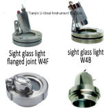 Vidrio de vista sanitario del acero inoxidable para el petróleo, líquido, vapor