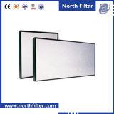 Alta eficiencia de purificación de aire-separador Estilo filtro de panel