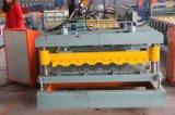 Azulejo de azotea de aluminio que hace la máquina