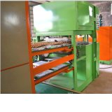 Máquina automático que hace la bandeja de papel del huevo