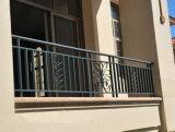 6つの装飾的な型の錬鉄階段柵