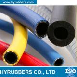 Tubo flessibile di gomma industriale della saldatura del gemello dell'acetilene dell'ossigeno del tubo flessibile