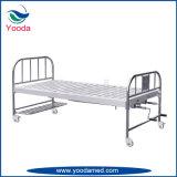 Reizbares manuelles Krankenhaus-Bett des Edelstahl-zwei
