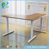 家具の机L形は坐るフレームを立てるか、または坐らせるために立場の机(JN-SD530)を