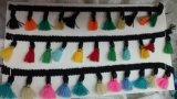 多くはHometextilesのための多彩なふさのフリンジを着色する