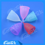 Signora riutilizzabile Menstrual Cups del silicone del grado medico