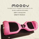 Самокат доски Hover 2 колес розового цвета франтовской электрический для девушок