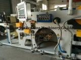 Máquina de capa ULTRAVIOLETA de la etiqueta adhesiva para las pequeñas industrias