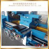 Preço resistente horizontal manual elevado da máquina do torno de C61400 Presion