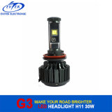 Faro del CREE LED di H11 3000lumens 30W 6000k G3 V16 Turbo per le automobili