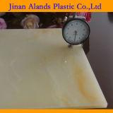 Hoja de mármol de acrílico de mármol del modelo de la hoja PMMA