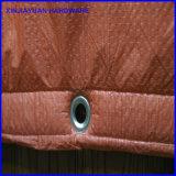 Couverture corrigeante concrète isolée de bâche de protection