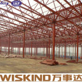Type spécial entrepôt soudé de la conception Q345b/Q235B de structure métallique d'armature