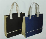 Long Handle Yx-172の灰色のColor Polyester Bag