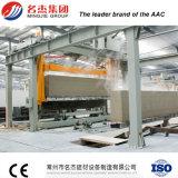 내화장치 압력가마로 소독된 공기에 쐬인 구체적인 AAC 구획 기계 AAC 벽돌 플랜트