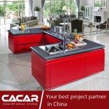 Armadio da cucina alla moda moderno Forte-Rapido della lacca della vernice di essiccamento (CA12-02)