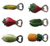 Alta qualità Plastic Promotional Rubber Key Chain con Opener (KC-A004)