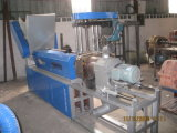 Wind - Kühlung Hot -Cutting Kunststoff-Recycling- Compounding -Maschine ( SJ- A90-120 )