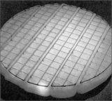 (Acciaio inossidabile, plastica o PTFE) antinebbia, rilievo della rete metallica del dispositivo antiappannante
