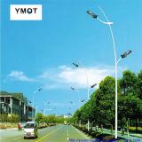 二重アームを搭載する統合された10m LEDの太陽街路照明
