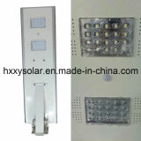 Integriertes Solar-LED Straßenlaterneder Fabrik-Verkaufs-professionelles Sonnenenergie-mit Fühler, Licht der Tankstelle-LED mit Sonnenkollektor