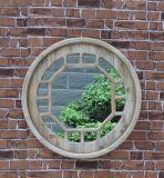 مستديرة مستحضر تجميل جدار مرآة لأنّ خارجيّ وداخليّة