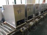 Congelador de vidro curvado popular da caixa da porta com capacidade de congelação 308L