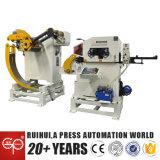 3 в 1 раскручивателе Uncoiler и машине фидера для производственной линии пунша (MAC3-400)