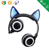 Écouteur sans fil stéréo de Bluetooth de type portatif de pli