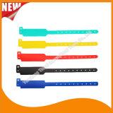 Unterhaltungs-Vinylplastik-Identifikationwristband-Armband-Bänder (E6060B43)