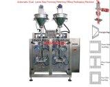 Máquina de empacotamento dupla automática do pó das pistas para o pó da glicose