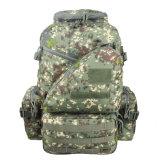 Curso tático militar da trouxa do ombro ao ar livre que acampa caminhando o saco Trekking