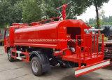 Dongfeng 6 dreht 5000 Liter Wasser-Feuerbekämpfung-Becken-LKW-
