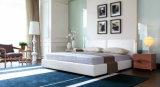 寝室の使用(MB1301)のための現代イタリアの革ベッド
