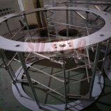 Einzelnes Schrauben-Doppeltes geht HDPE-LDPE-Plastikfilm-durchbrennenmaschine voran