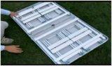 A tabela de dobramento e a cadeira da liga de alumínio do Portable ao ar livre ajustam-se (JTJ1024)