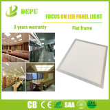 白またはスライバEMC+LVDの高性能40W 100lm/Wの平らなフレームLEDの照明灯使用されたよい材料