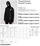 Preto de confeção de malhas contra a névoa à moda de Hoodies dos homens dos testes padrões da máscara protetora do outono Y-680