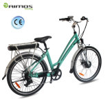 Ebike City Electric Bike 36Vアルミ合金の女性