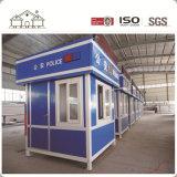 安く環境に優しいカラー鉄骨構造のプレハブの容器の家