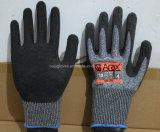le latex de 13G Hppe a enduit le gant Couper-Résistant de travail de sûreté